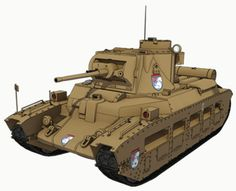 I tried to refrain from making this post as I would imagine most people reading this stuff aren't very interested in armored vehicles. War Thunder, Battle Tank, Anime Neko, Panzer, Armored Vehicles, Ghostbusters, Matilda, Godzilla, Military Vehicles