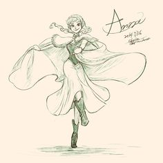 Anna by chacckco on deviantART