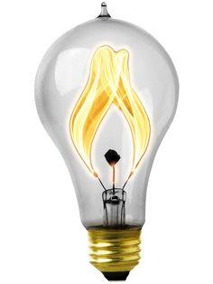 Electric flame carbon filament light bulb 15 watt bulbs lights balafire flicker carbon filament light bulb 15 watt mozeypictures Choice Image