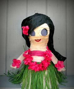 Island Girl Pinata Made to Order by whack on Etsy, $45.00