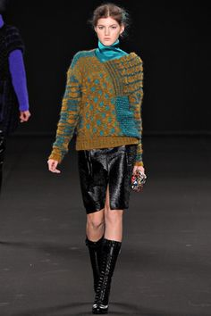 Vanessa Bruno.  This reminds me of an 80's sweater, but in a better way.  Cool.