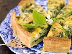 Recipe For  Spinach and Feta Quiche