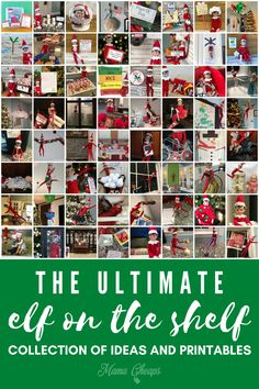 Why is it so hard to think of new elf ideas? We are here to help! Check out these super easy elf ideas! Minimal thinking required for these elf adventures, all while keeping it fun and exciting for the kids! These ideas all take simple props and/or printables that we have for free on our site. Easy elf ideas are a parent's best friend! Let us know which ones you try and how they turned out! This post has more than a decade of our elf adventures! #elfontheshelf #christmas #elfideas…