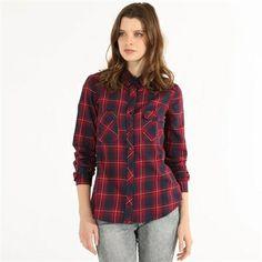 Pimkie.es : La camisa de cuadros forma parte de las prendas que no deberán faltar en tu armario.