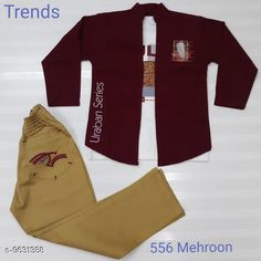 Jackets & Coats Beautiful Kids Clowthing Set Fabric: Cotton Multipack: 1 Sizes:  Free Size Country of Origin: India Sizes Available: 2-3 Years, 3-4 Years, 4-5 Years, 5-6 Years, 6-7 Years, 7-8 Years, 8-9 Years, 9-10 Years, 10-11 Years, 1-2 Years   Catalog Rating: ★4.3 (290)  Catalog Name: Tinkle Elegant Boys Jackets & Coats CatalogID_1703657 C59-SC1181 Code: 408-9631388-8712