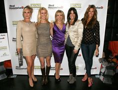 """Ramona Singer Sonja Morgan Photos - """"The Real Housewives Of New York City"""" Season 4 Premiere Party - Zimbio Housewives Of New York, Real Housewives, Melissa Gorga, Ramona Singer, Photo L, Housewife, Season 4, Front Row, New York City"""