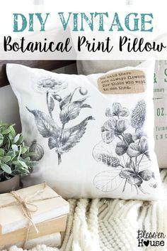DIY Vintage Botanica