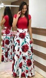 Leggings Wholesale & Manufacture - Xiamen Aicai Apparel Co. Modest Outfits, Modest Fashion, Casual Dresses, Fashion Outfits, Floral Dresses, Elegant Dresses, Church Attire, Church Outfits, African Fashion Dresses