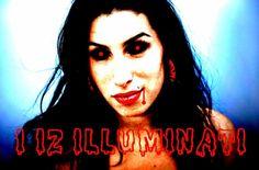 Amy Winehouse Illuminati Murder The 27 Club Lazer Horse