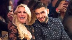 Pop star Britney Spears and her boyfriend Sam Asghari can't help gushing over each other — see the pair's adorable pics