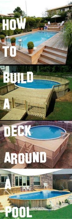 How To Build A DeckAround A Pool:http://vid.staged.com/oUBs