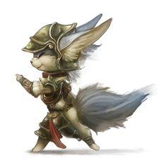 Random catfox warrior by *Silverfox5213 on deviantART