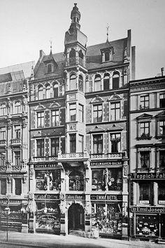 Liepziger Straße 34.. Kaufhaus Thiele