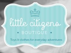 Little citizens Boutique logo ideas