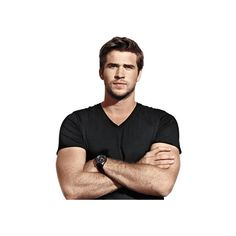 Liam Hemsworth ❤ liked on Polyvore featuring liam hemsworth and celebrities