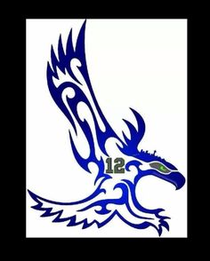 Seahawks, when they win the Super Bowl I want to put XLVIII instead of 12 Seahawks Football, Seahawks Fans, Best Football Team, Football Stuff, Seahawks Memes, Seattle Seahawks Logo, Football Baby, Broncos, Seattle Skyline