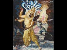 Lord Narahari.                                                ( Nrsmhadeva )