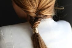 Gold wrapped fishtail