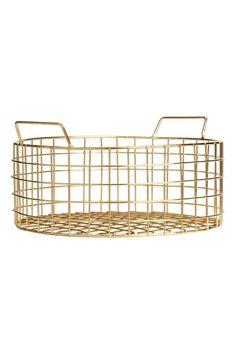 Round bread basket - Gold £14.99