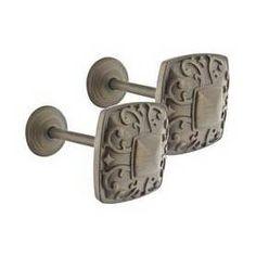 allen   roth 2-Pack Meridian Bronze Curtain Holdbacks