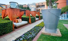 Tented Garden Free Travel, Travel And Leisure, Arch Hotel, Melrose Arch, South Africa, Beautiful Homes, Tent, Patio, World