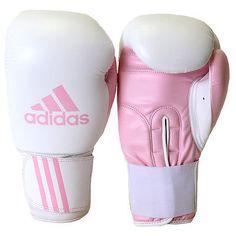 Adidas Response Boxing Gloves - 10 oz - White/Pink