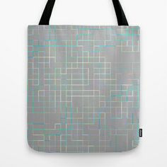 Re-Created SquaresXXX  #Tote #Bag by #Robert #S. #Lee - $22.00