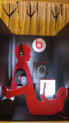 Window display for Beats