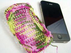 Free Crochet Pattern - Smart Phone Cover