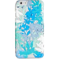 Vera Bradley Transparent Chic iPhone 6/6S Case ($38) ❤ liked on Polyvore featuring accessories, tech accessories, camofloral and vera bradley