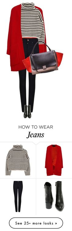 """street style"" by ecem1 on Polyvore featuring Derek Lam, Giorgio Armani, Very Volatile and CÉLINE"