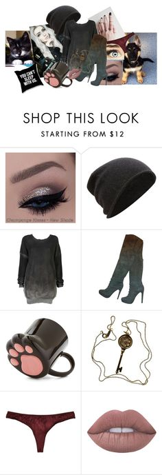 """""""Untitled #434"""" by broken-beyond-repair ❤ liked on Polyvore featuring FWSS, Ksubi, Elie Tahari, Tiffany & Co. and Lime Crime"""