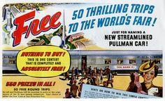 1939 World's Fair advertisement