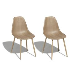 chaise gaby naturelle x 2 (GiFi-431826X)