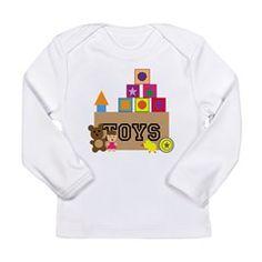 Toy Box Long Sleeve Infant T-Shirt