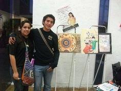cierre de exámenes de los alumnos de quinto semestre de diseño gráfico para las materias de Computación III / In Design  y Arte Contemporáneo y Popular Mexicano.