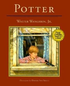 """I read this as a child, and it took me so long to find it as an adult. """"Potter"""" + search engines are not conducive to success in this instance. A complex and poetic children's story for sensitive young souls."""