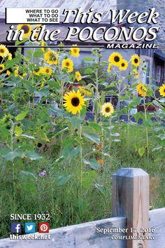 September 17, 2016 Cover: Christina Grape-Garvey of Pocono Photo Club
