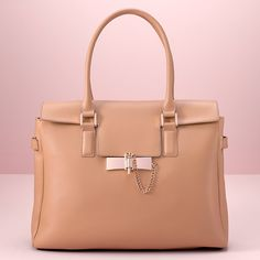 LC Lauren Conrad Runway Collection Leather Tote