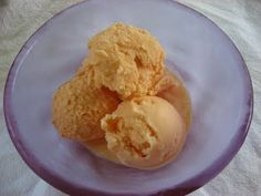 Real Food Sweet Carrot Ice Cream ... light and refreshing + perfectly sweet, a nice change from your typical ice cream flavors. #realfood #icecream