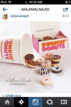 Dunken donuts!Yummm!