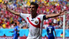 Bryan Ruiz - Italy vs Costa Rica - World Cup 2014