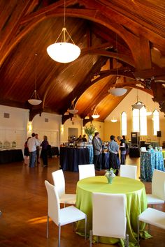 Party Reflections on Pinterest...http://partyreflections.com/     La Tea Da's 2012 Fall Soiree at St. Peters Church in Uptown.