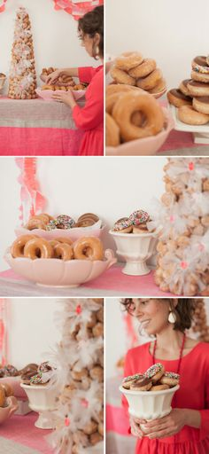 A Donut Party   Oh Happy Day!