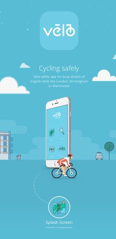 App for bikers.