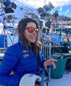 Sofia Goggia. Italian skier