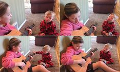 Girl, 11, sings to her little brother with Down syndrome