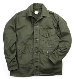 Post Overalls Olive Cruzer Jacket. $231 (from 385) at Inventory Magazine.