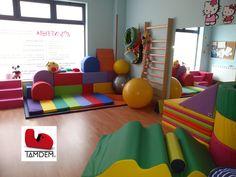 Sala de psicomotricidad, terapia y desarrollo infantil.
