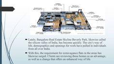 Bangalore Real Estate Skyline Beverly Park